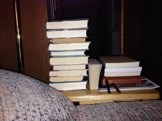 Books Beside the Reading Chair